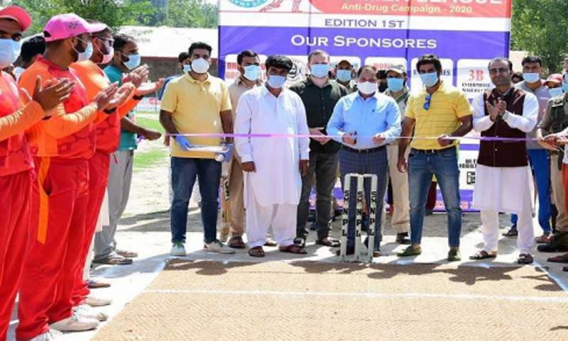 Jammu and Kashmir: Deputy Commissioner Ganderbal inaugurates cricket tournament