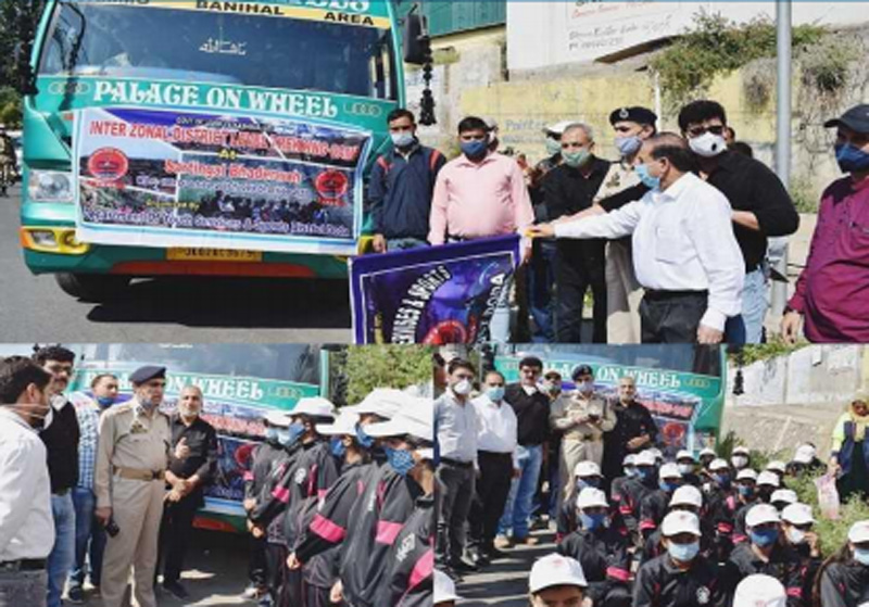 Jammu and Kashmir: SSP Doda flags-off 50 girls on inter-zonal district level trekking expeditions