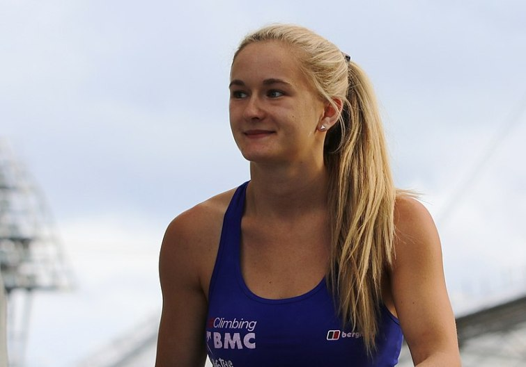 Coxsey named as Britain's first ever Olympic climber