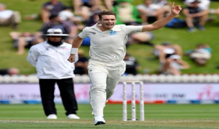 India finish day's play at 144/4, trail NZ by 39 runs still