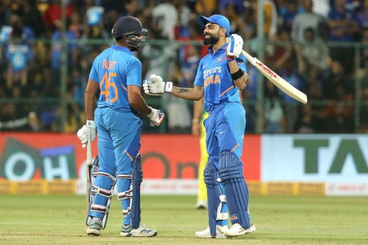 Virat Kohli, Rohit Sharma consolidate positions, Dhawan moves up