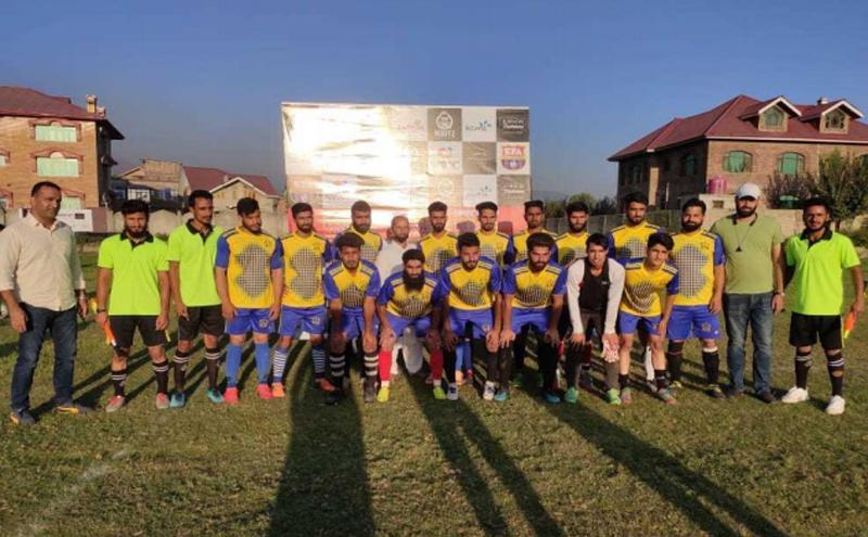 Jammu and Kashmir: Ganderbal FC beats Budgam Dangerpora FC