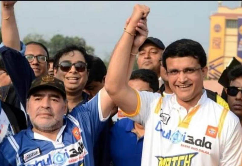 'My hero no more': Sourav Ganguly mourns Diego Maradona's death