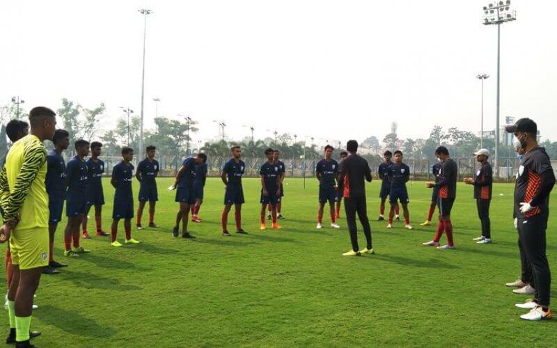 Indian Arrows arrive in Kolkata for IFA Shield
