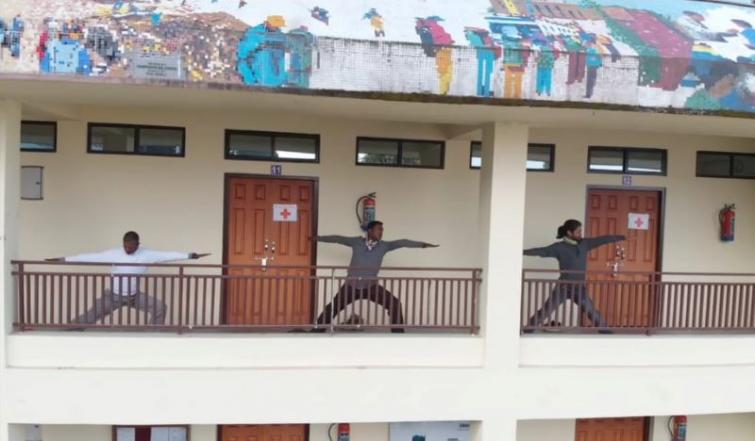 HMI Darjeeling sets example during COVID-19 lockdown