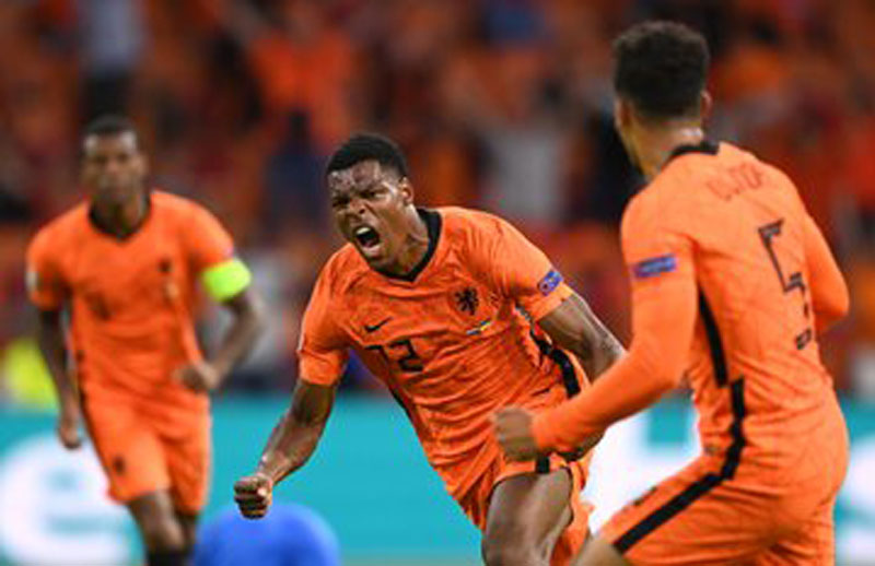Euro 2020: Dutch team beat Ukraine 3:2