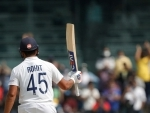 Rohit Sharma slams 100, India steady on day 1 of 2nd Test against England