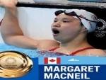 Tokyo Olympics: Canadian swimmer MacNeil wins women's 100m butterfly gold