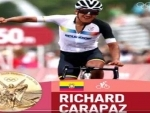 Ecuadorian cyclist Richard Carapaz wins gold at Tokyo Olympics