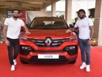 Renault India presents KIGER SUV to Olympic medalist Ravi and Bajrang
