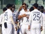 Indian bowlers shine as England struggle at 53/3 at stumps