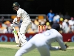 Brisbane Test: Australia steady after losing initial wickets