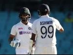 Indian cricket fraternity appreciates Ajinkya Rahane and his team's Sydney performance