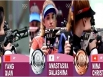 Chinese shooter Yang Qian wins first gold of Tokyo 2020 in women's 10m air rifle event