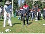 Golf Clinic held at RSGC, Kashmir