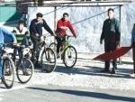 Jammu and Kashmir: Zonal cycle race held in Kangan