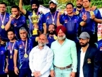 Jammu and Kashmir Masters Roller Hockey Team clinches gold medal