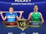 India beat Ireland in women's hockey group league match in Tokyo Olympics