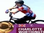 Tokyo Olympics: British cyclist Worthington wins first Olympic BMX freestyle gold