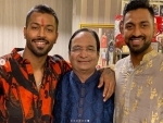 Indian all-rounders Hardik and Krunal Pandya's father dies, cricketers mourn