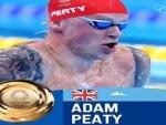 Tokyo Olympics: British swimmer Peaty wins men's 100m breaststroke gold