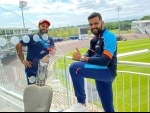 We are in Southampton: Rohit Sharma shares picture with Rishabh Pant on social media