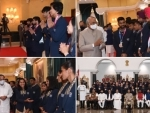 President lauds India's Tokyo Olympic team