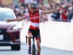 Tokyo Olympics: Anna Kiesenhofer of Austria wins women's road race