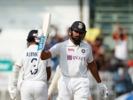 Second Test against England: Rohit Sharma's crucial 161 runs help India score 300/6 at stumps