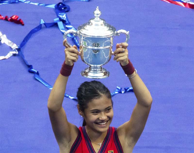 US Open: Great Britain's Emma Raducanu clinches women's singles title