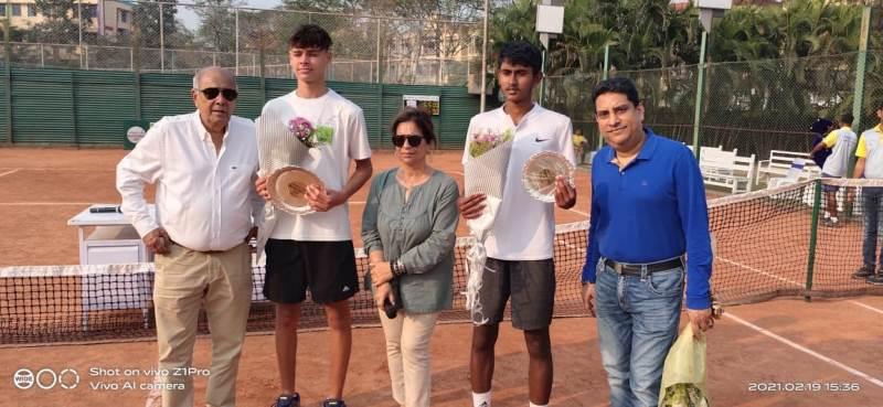 Wyatt O' Brien wins 5th Premjit Lal Tennis Championship