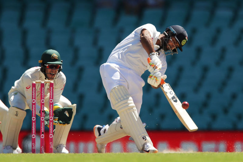 Sydney Test: Rishabh Pant's 97, Pujara's 77 help India in run chase against Australia