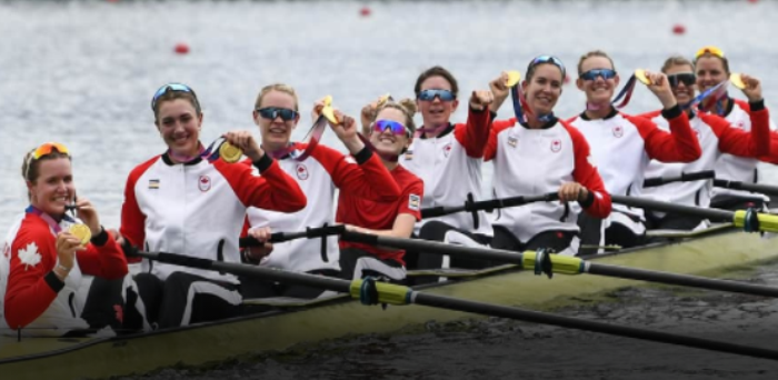 Canadian women's eight rowing crew win Olympic gold first time in 29 years