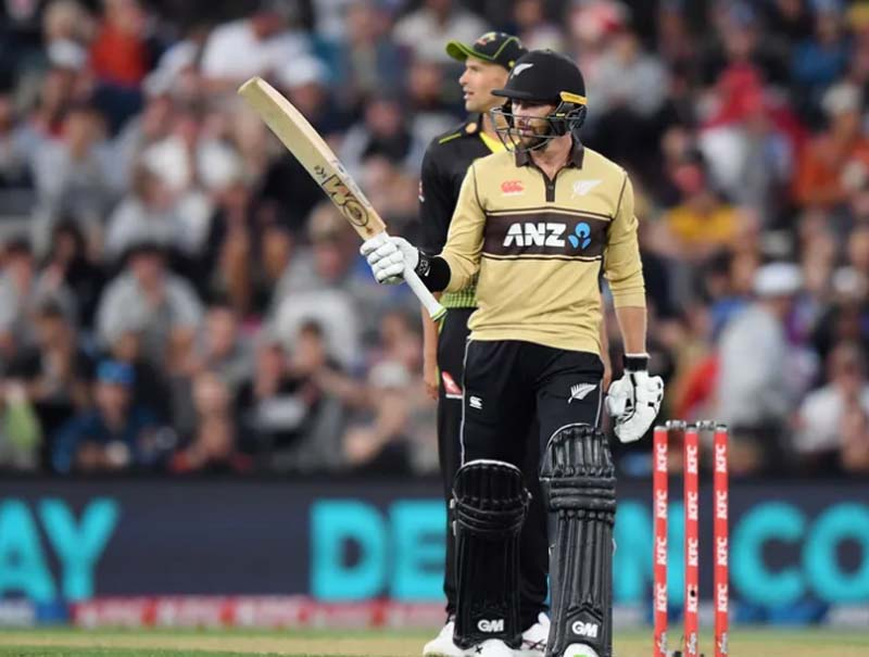 Conway, Guptill move up in MRF Tyres ICC Men's T20I Player Rankings