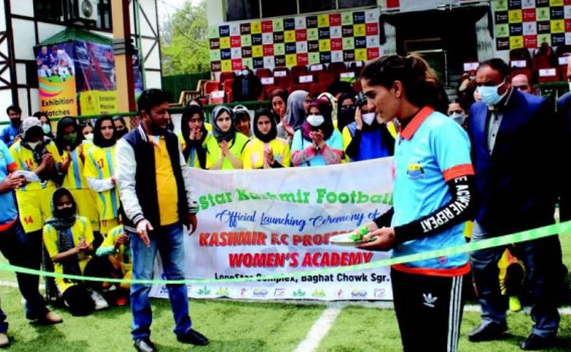 Jammu and Kashmir: LoneStar Kashmir Football Club re-launched Kashmir