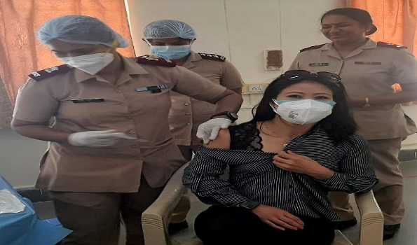 Olympic-bound Mary Kom, Lovlina get their first dose of the COVID-19 vaccine