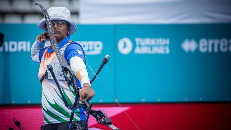 Archery World Cup: Deepika Kumari completes triple gold in Paris