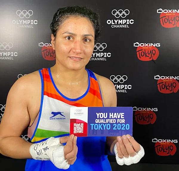 Tokyo Olympics: Pooja Rani dominates Algeria's Chaib Ichrak to reach Round of 8 in Women's Middle Weight Boxing