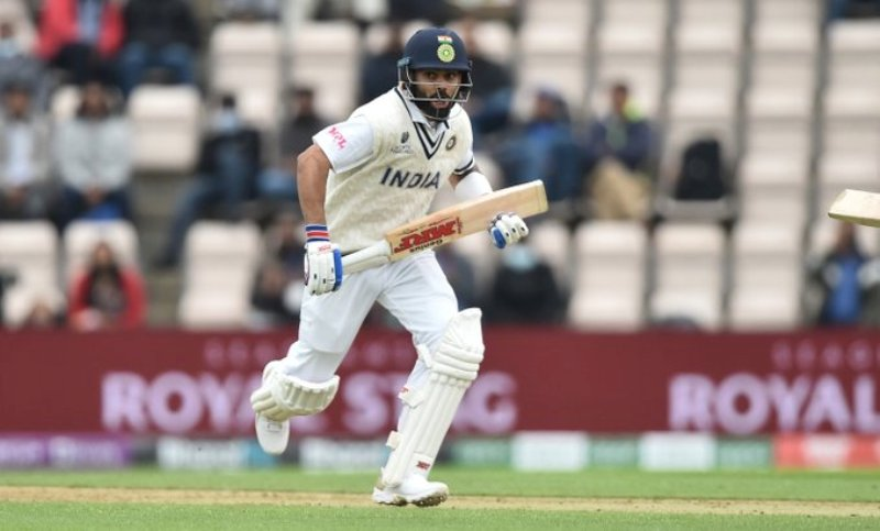WTC Final: India score 146 for 3 as bad light stopsplay