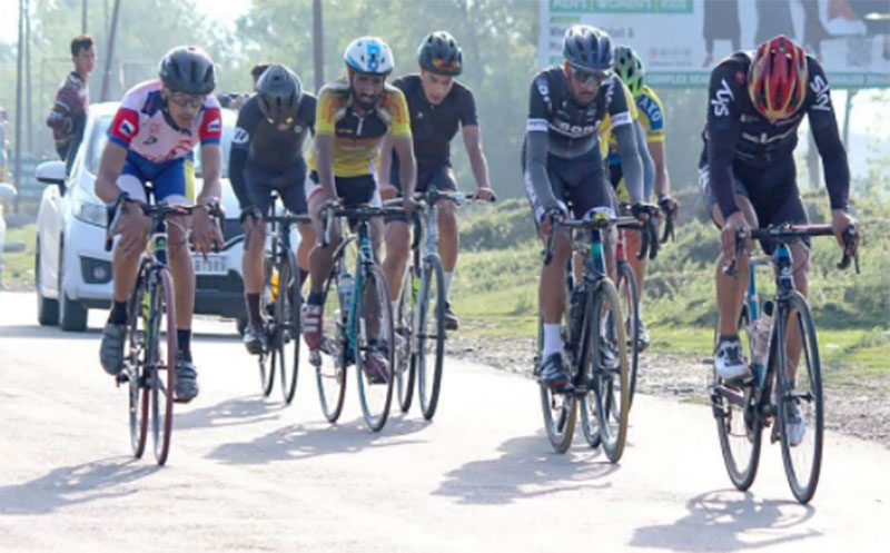 Indian Army organises cycle rally in Baramulla, Kashmir