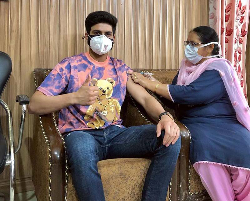 Indian cricketer Shubman Gill gets first COVID-19 vaccine shot