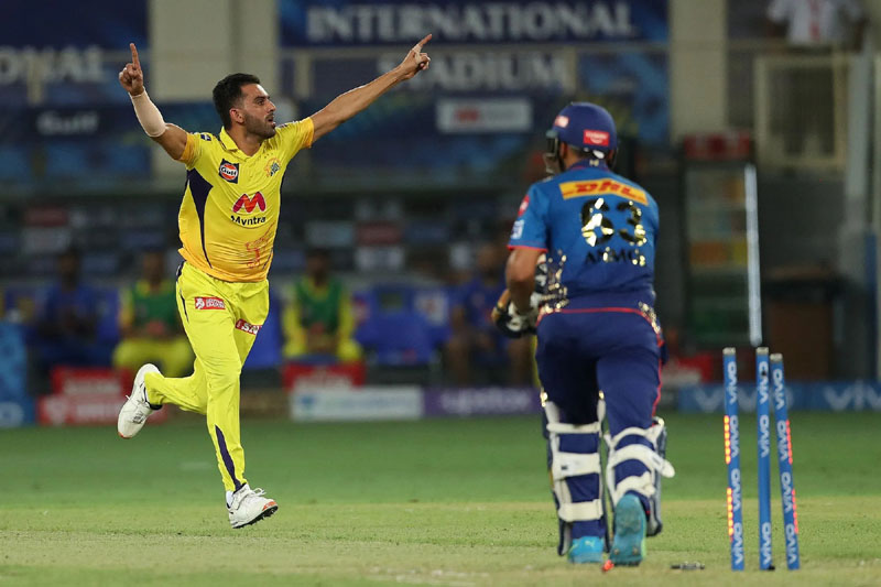CSK beat Mumbai Indians by 20 runs in crucial IPL clash