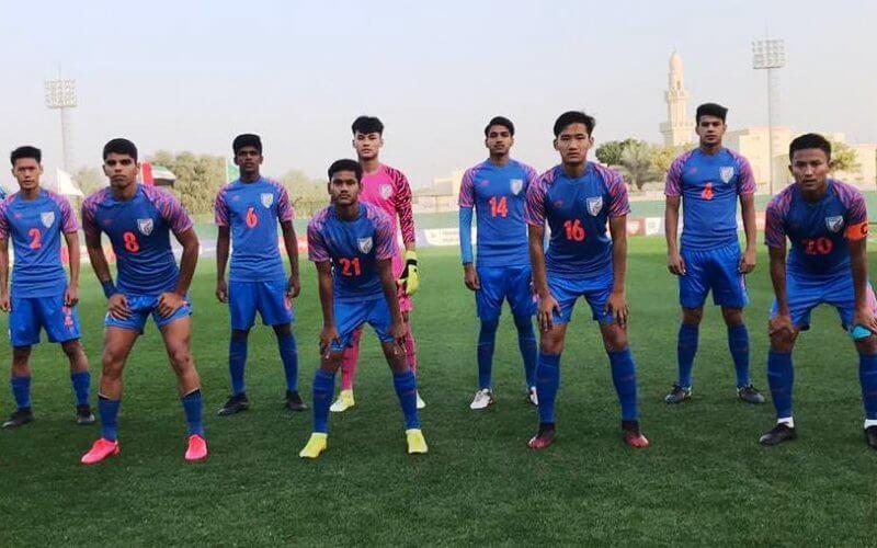 India U-16 team beat UAE in friendly clash