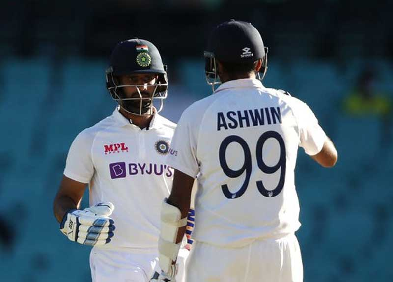 Indian cricket fraternity appreciates Ajinkya Rahane and his team's Sydney performance