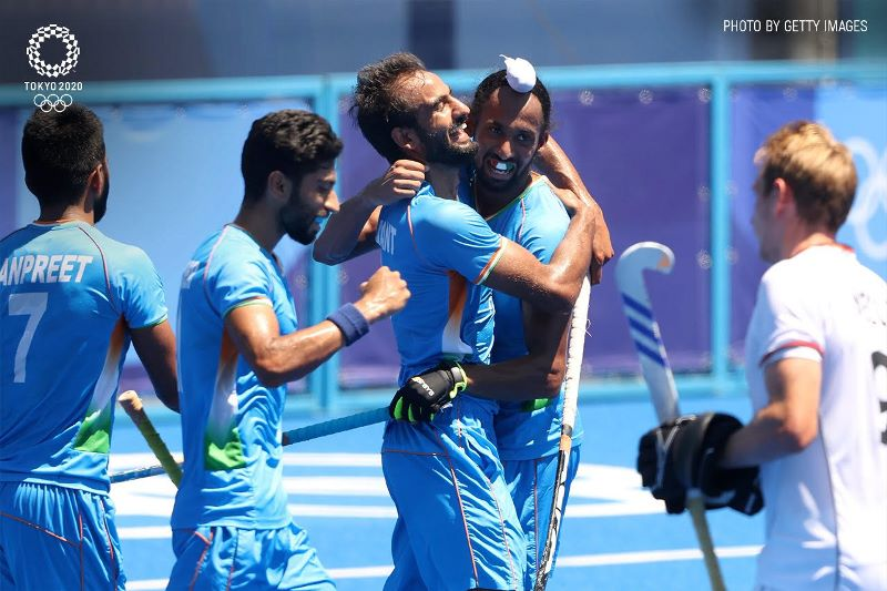 Tokyo Olympics: India defeat Germany 5-4 to win bronze in men's hockey