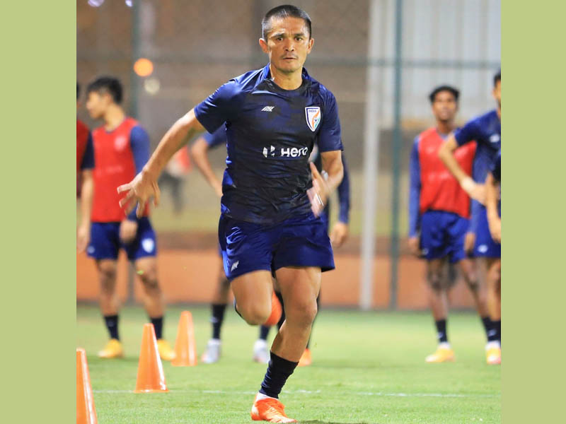 Sunil Chhetri overtakes Lionel Messi to become second-highest active goalscorer