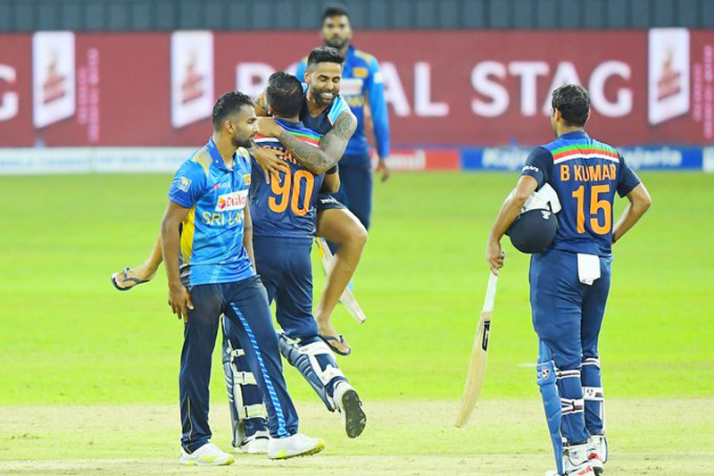 Second ODI: Chahar's heroics help India beat Lanka by 3 wickets, seal series