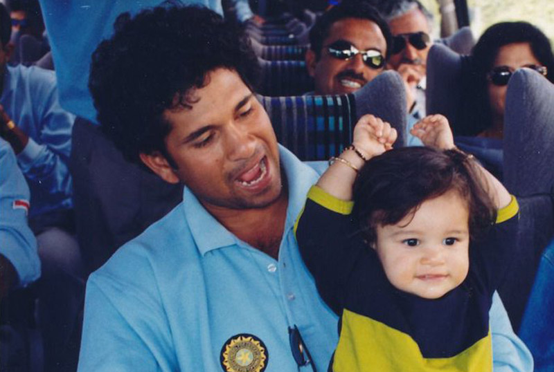 When you are around time flies like a 6 too: Sachin Tendulkar wishes Sara on International Daughters' Day