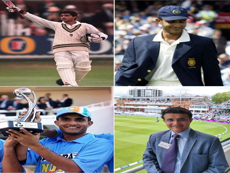 From 1996 to 2021: Sourav Ganguly captures his various moments at Lord's