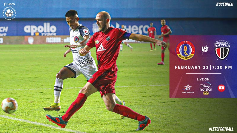 East Bengal look to dent Highlanders' ISL playoffs hopes
